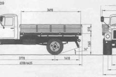 Самосвал газ (газон), боковая, задняя, выгрузка (3)
